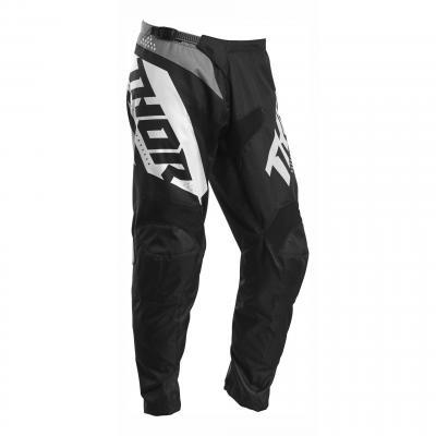 Pantalon cross Thor Sector Blade noir/blanc