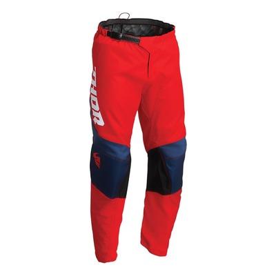 Pantalon cross Thor Sector Chev rouge/navy/blanc