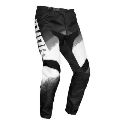Pantalon cross Thor Sector Vapor noir/blanc