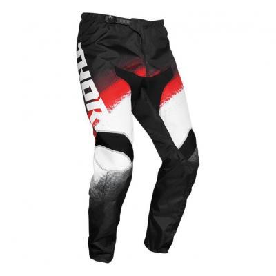 Pantalon cross Thor Sector Vapor rouge/noir