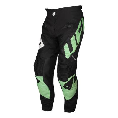 Pantalon cross Ufo Division aqua/noir