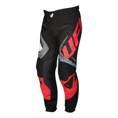 Pantalon cross Ufo Division noir/gris/rouge