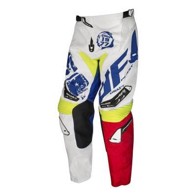Pantalon cross Ufo Draft jaune blanc/bleu/rouge/jaune fluo