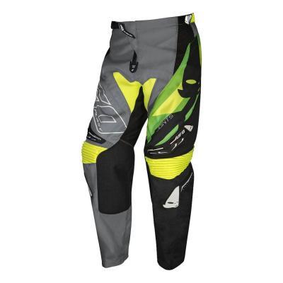 Pantalon cross Ufo Joints gris/vert