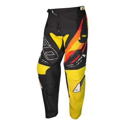 Pantalon cross Ufo Joints noir/jaune