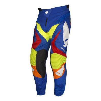 Pantalon cross Ufo Shade bleu/rouge/orange/jaune