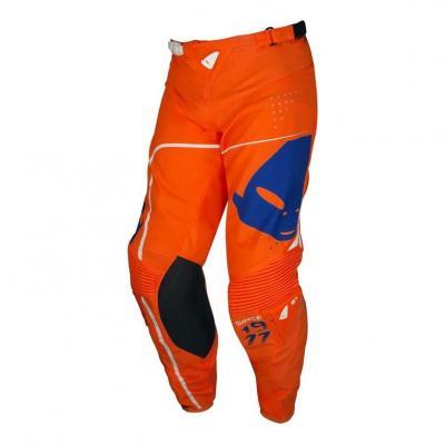Pantalon cross Ufo Slim Sharp orange/bleu