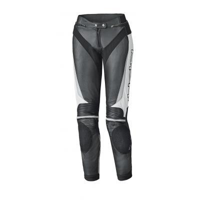 Pantalon cuir femme Held LANE II noir/blanc