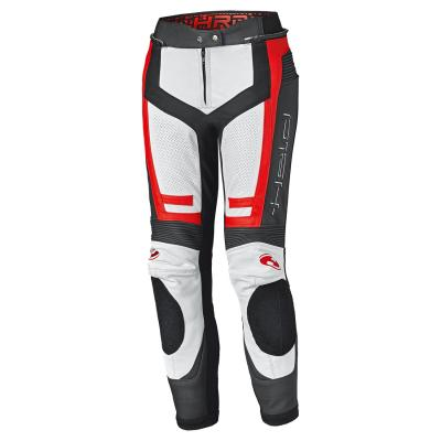 Pantalon cuir femme Held Rocket 3.0 blanc/rouge