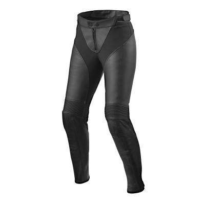 Pantalon cuir femme Rev'it Luna Ladies noir (Standard)
