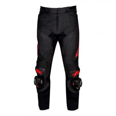 Pantalon cuir Furygan Raptor Evo noir/rouge