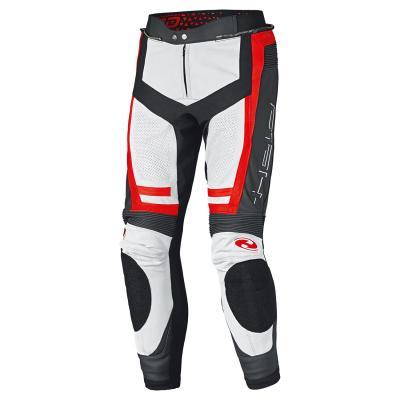 Pantalon cuir Held Rocket 3.0 blanc/rouge