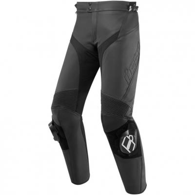 Pantalon cuir Icon Hypersport 2 noir