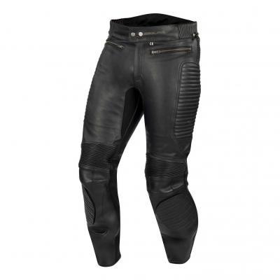 Pantalon cuir Segura Bekker noir