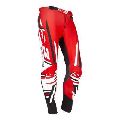 Pantalon de Trial S3 Racing Team rouge/noir