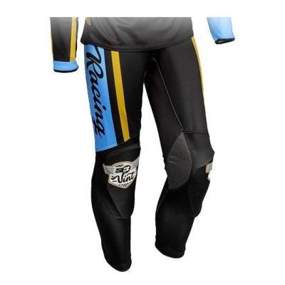 Pantalon de trial S3 Vintage bleu Gulf