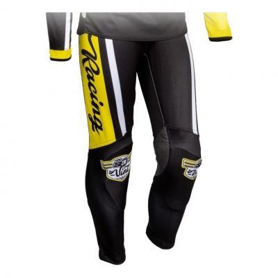 Pantalon de trial S3 Vintage jaune/noir