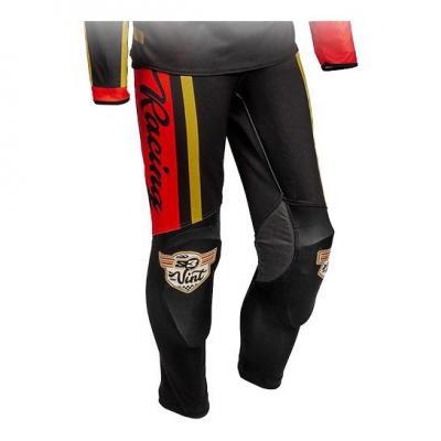 Pantalon de trial S3 Vintage rouge/noir