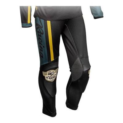 Pantalon de trial S3 Vintage vert/noir