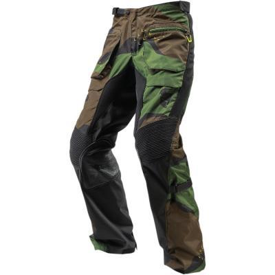 Pantalon enduro Thor Terrain OTB vert camouflage
