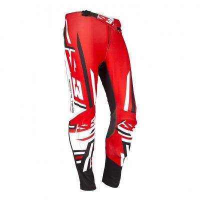 Pantalon enfant de Trial S3 Racing Team rouge/noir