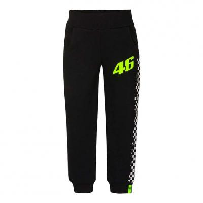 Pantalon enfant VR46 jogging Race noir