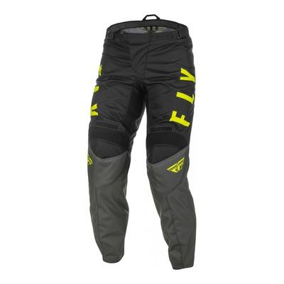 Pantalon Fly Racing F-16 gris/noir/jaune fluo