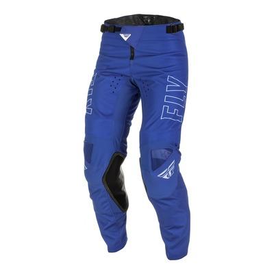Pantalon Fly Racing Kinetic Fuel bleu/blanc