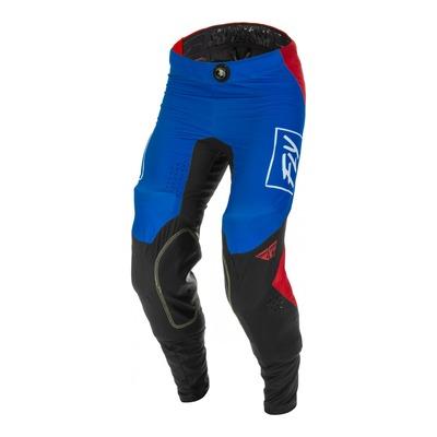 Pantalon Fly Racing Lite rouge/blanc/bleu