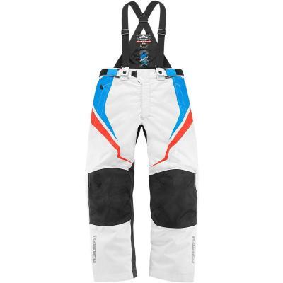 Pantalon Icon Raiden DKR blanc/bleu