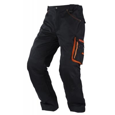Pantalon Kenny Racing noir/orange