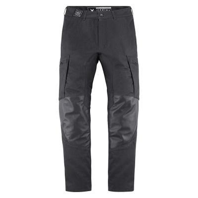 Pantalon textile/cuir Icon 1000 Varial noir