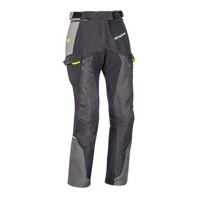Pantalon textile femme Balder noir/gris/jaune