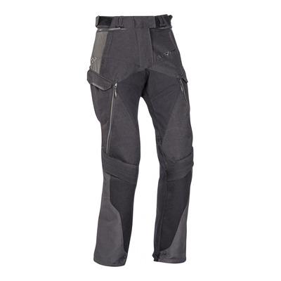 Pantalon textile femme Balder noir/gris/rouge