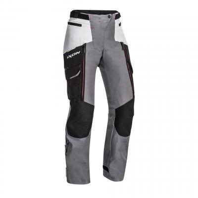 Pantalon textile femme Ixon Sicilia noir/gris/rouge