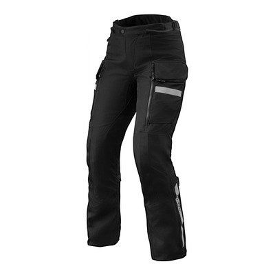 Pantalon textile femme Rev'it Sand 4 H2O (court) noir