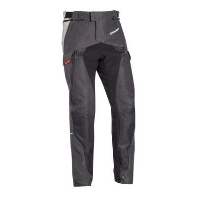Pantalon textile Ixon Balder noir/gris/rouge