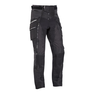 Pantalon textile Ixon Ragnar noir/anthracite