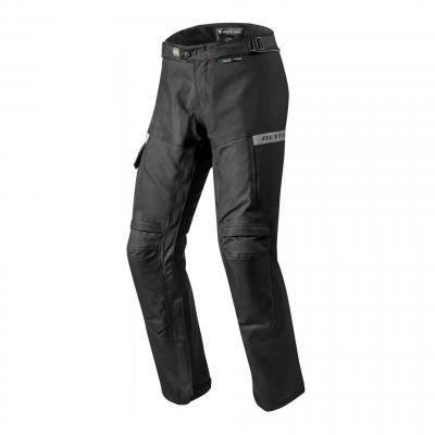 Pantalon textile Rev'it Commuter (court) noir