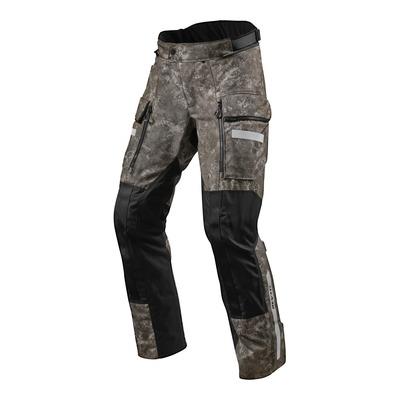 Pantalon textile Rev'it Sand 4 H2O (court) camouflage marron