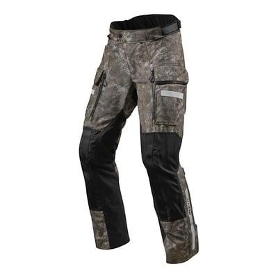 Pantalon textile Rev'it Sand 4 H2O (standard) camouflage marron