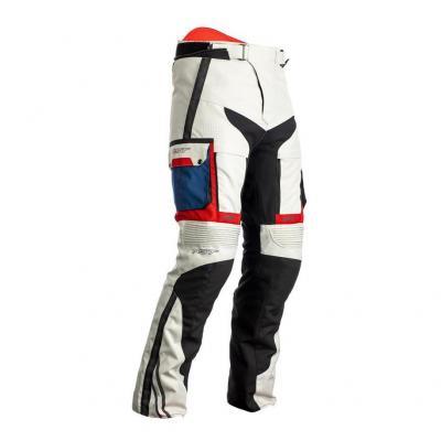 Pantalon textile RST Adventure-X Ice/bleu/rouge