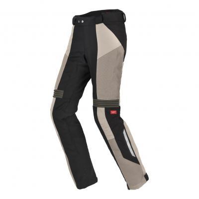 Pantalon textile Spidi H2Out Netrunner sable