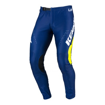 Pantalon trial Kenny Trial-up bleu/jaune fluo 2022