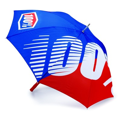 Parapluie 100% Premium bleu/rouge