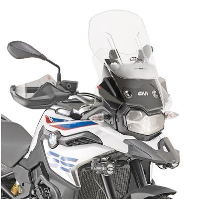 Pare-brise Airflow Givi BMW F 850 GS 18-20 clair