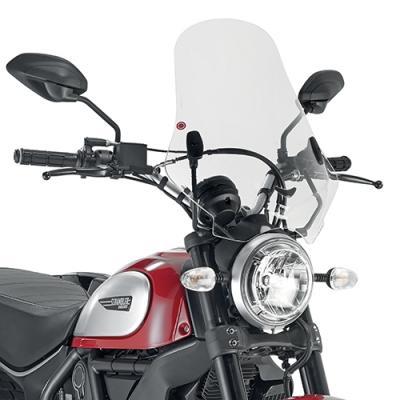 Pare-brise Kappa Ducati 800 Scrambler Icon 15-18 transparent