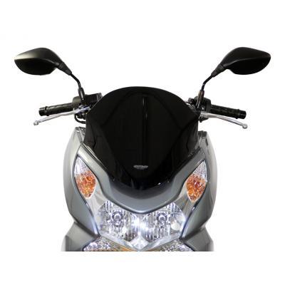 Pare-brise MRA Sport noir Honda PCX 125 10-13