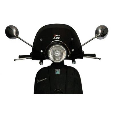 Pare brise T4 Tune fumé bas pour Vespa LX 125 4T 05-14