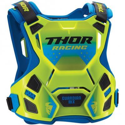 Pare-pierre enfant Thor Guardian MX vert fluo/bleu
